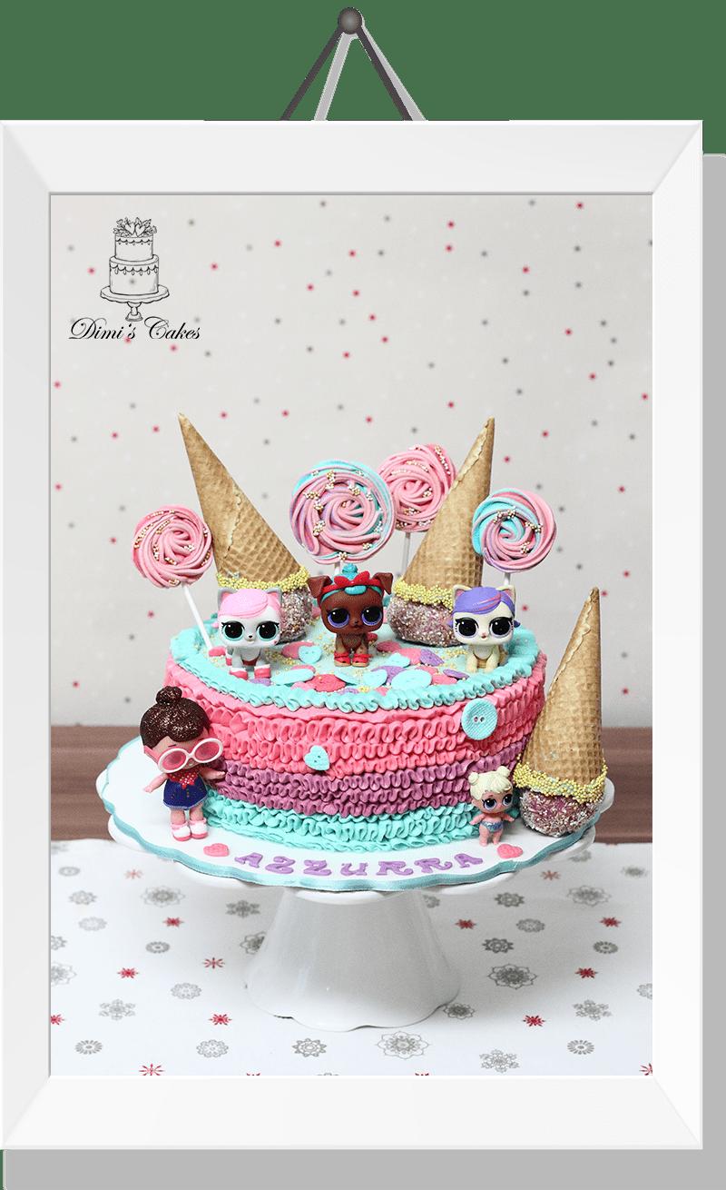 Gâteau LOL Surprise